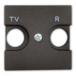 Tapa toma antena TV/R antracita n2250.8an Niessen Zenit
