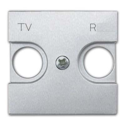 Tapa toma antena TV/R n2250.8pl plata Niessen serie Zenit