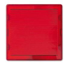 Tapa difusora roja para señalizador luminoso Simon 82065-32