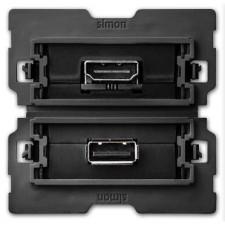 Conector Simon 100 HDMI V1.4 10000563-039 - conector USB 2.0 Tipo A