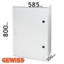 Cuadro eléctrico de poliéster Gewiss GW46006F con puerta ciega