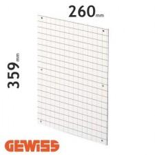 Placa de fondo perforada Gewiss GW46409 para cuadros de 310x425