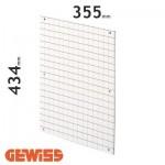 Placa de fondo perforada Gewiss GW464010 para cuadros de 405x500