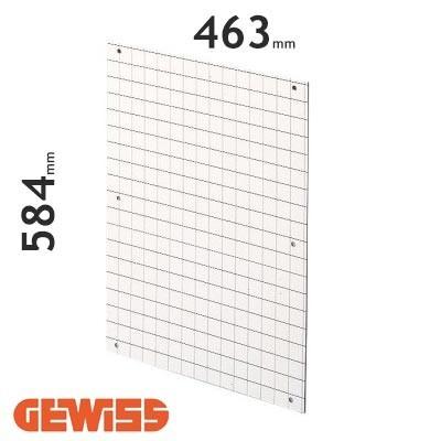 Placa de fondo perforada Gewiss GW464012 para cuadros de 515x650