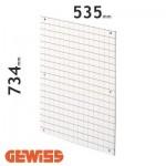 Placa de fondo perforada Gewiss GW464013 para cuadros de 585x800