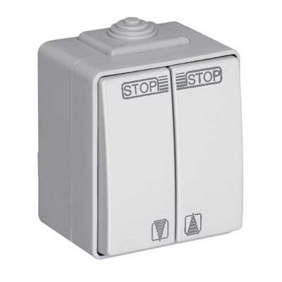 Interruptor de persianas estanco 16A IP65 48290 CCZ EFAPEL