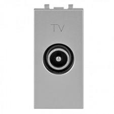 Toma TV final 1 módulo N2150.7 PL Niessen Zenit plata