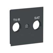 Tapa toma R-TV/SAT New Unica NU944154 Schneider antracita