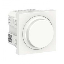 Regulador giratorio LED New Unica NU351418 Schneider blanco polar