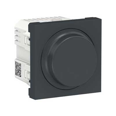 Regulador LED giratorio New Unica NU351454 Schneider antracita