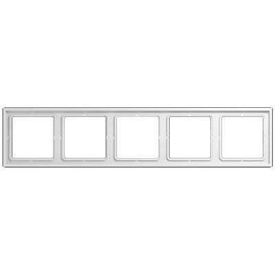 Marco 5 elementos JUNG ls985ww blanco alpino serie ls990