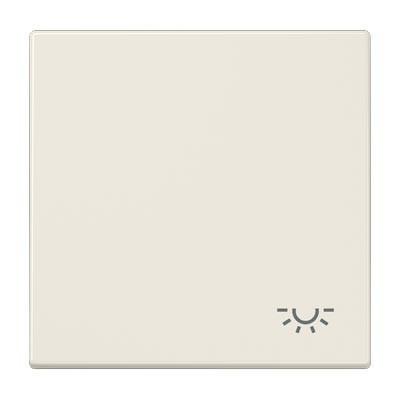Tecla pulsador simbolo luz JUNG LS90L color marfil