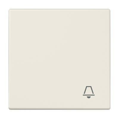 Tecla pulsador simbolo timbre JUNG LS 990 K color marfil