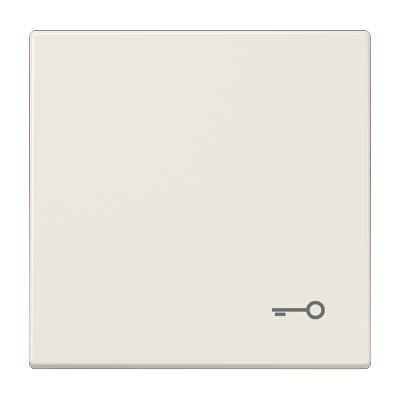 Tecla pulsador simbolo puerta JUNG LS 990 T color marfil