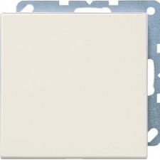 Placa ciega con soporte marfil jung ls994b serie ls990