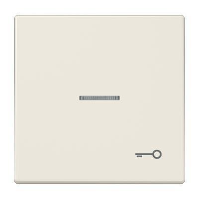 Tecla JUNG ls990ko5t pulsador con visor simbolo puerta marfil serie ls990