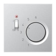 Termostato sólo calefacción Jung TR AL 231 aluminio