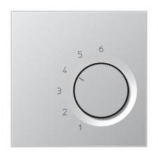 Termostato calefacción refrigeración Jung TR AL 236 aluminio
