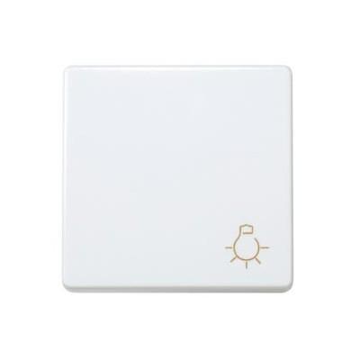 Pulsador simbolo luz blanco 27151-65 serie simon 27 play