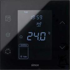 Termostato Simon 100 10000810-138 color negro