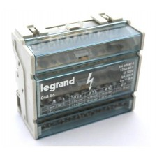 Repartidor tetrapolar legrand 04886 125A 6 módulos