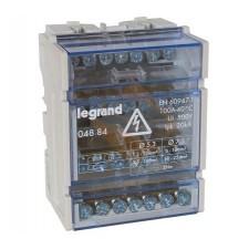 Repartidor tetrapolar 4 barras 4 módulos 100A 004884 Legrand