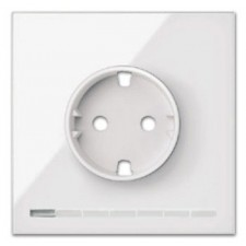 Kit front 1 elemento 1 enchufe IO 10021108-130 blanco Simon 100
