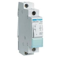 Telerruptor HAGER EPN510 230v 16a 1na modular