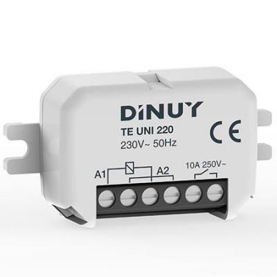Telerruptor DINUY TE UNI 20 unipolar 230v 1na