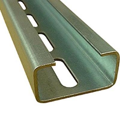 Perfil perforado en C Legrand CP-2010 barra de 2 metros