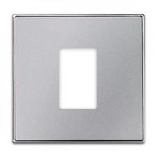 Tapa toma 1 conector HDMI Niessen 8555 PL plata