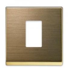 Tapa toma 1 conector HDMI Niessen 8555 OE oro envejecido