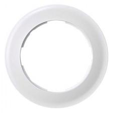 Marco redondo blanco 88610-30 Simon 88 1 elemento