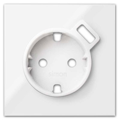 Tapa enchufe schuko 10000049-130 Simon 100 blanco