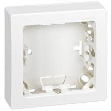 Marco con base para 1 elemento Simon 73610-60 color blanco