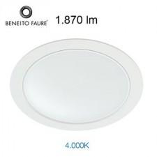 Downlight LED AIR 22W 300335F Beneito & Faure 4000K