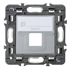 Adaptador conector RJ45 Keystone aluminio Valena Next 741377 Legrand
