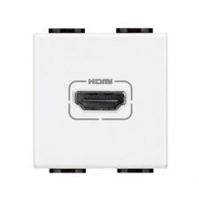Toma HDMI bticino Livinglight N4284 blanco