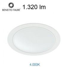 Downlight LED NOI 14W 242337-15F Beneito & Faure 4000K
