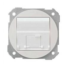 Tapa informática RJ45 Simon 88081-30 color blanco