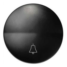 Tecla pulsador Simon 88017-38 símbolo timbre color grafito