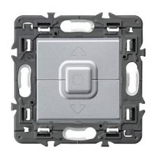 Interruptor de persianas Legrand 741352 Valena Next aluminio