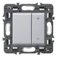 Regulador de luz Legrand 741354 Valena Next aluminio