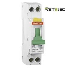 Magnetotérmico Diferencial VIGI Retelec SGNL6KC25030A MAXGE Clase A
