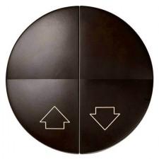 Tecla pulsador de persianas Simon 88028-32 color marrón