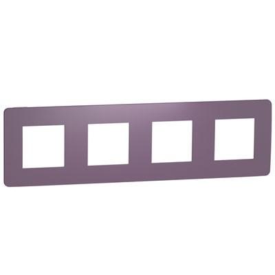 Marco 4 elementos violeta Schneider NU280814 New Unica Studio Color