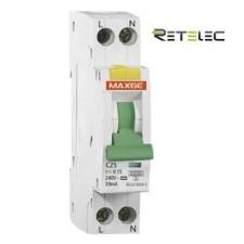 Magnetotérmico Diferencial VIGI Retelec SGNL6KC06030 MAXGE 6A