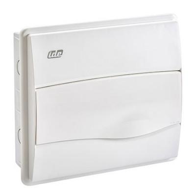 Caja distribución 12 modulos empotrable IP40 blanca