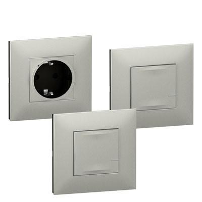 Extension Pack Legrand 741835 Valena Next with Netatmo aluminio