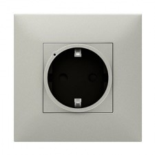 Base de enchufe conectada Legrand 741841 Valena Next with Netatmo aluminio